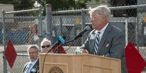 Click to View Monmouth Marine and Environmental Field Station Ceremony Photo 9