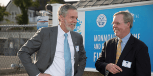Click to View Monmouth Marine and Environmental Field Station Ceremony Photo 10