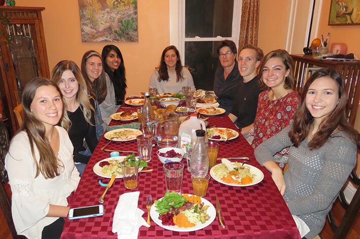 Peer mentor dinner 2016