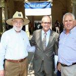 Photo of Dr. William Schreiber, Dr. Robert Mc Caig and Dr. Azzam Elayan
