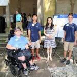 Photo of Steven Cassidy, Jason Yan, Dr. Cui Yu and Matt Mammano