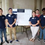Photo of Joseph Chung, Todd Qualiano, Victoria Johnson, Matt Cohen, Trisha Smith (Gatto Lab)