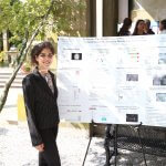 Photo of student Reina Montero (Hicks Lab)