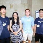 Photo of Jason Yan, Dr. Cui Yu, John Meyer, Wenjin Zhang