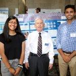 Photo of Anadi Saini, Dr. James Mack, Ryan Terrany