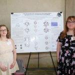 Photo of students Olivia Enny and Roxy Nicoletti of the Kosenkov Lab