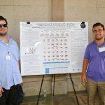 Photo of students Tom Melfi and Santino Timpani of the Kosenkov Lab