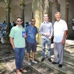 Photo of Dr. Sean Sterrett, Dr. Keith Dunton, Dr. David Darmon and Assistant Dean John Tiedemann