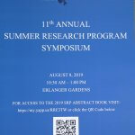 Image of 11th Annual School of Science Summer Research Program Cover