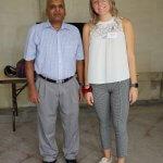 Photo of Dr. Raman Lakshmanan and Patricia Skora