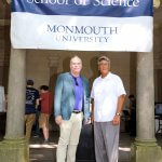 Photo shows School of Science Dean Steven Bachrach, withb Assistant Dean John Tiedemann