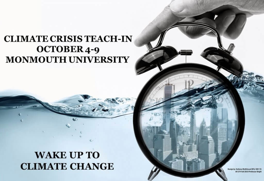 Promotional Banner Image for Climate Crisis Teach-In 2021