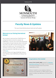 Click to Read Our Social Working E-Newsletter Cover