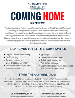 Coming Home Project - Start the Conversation