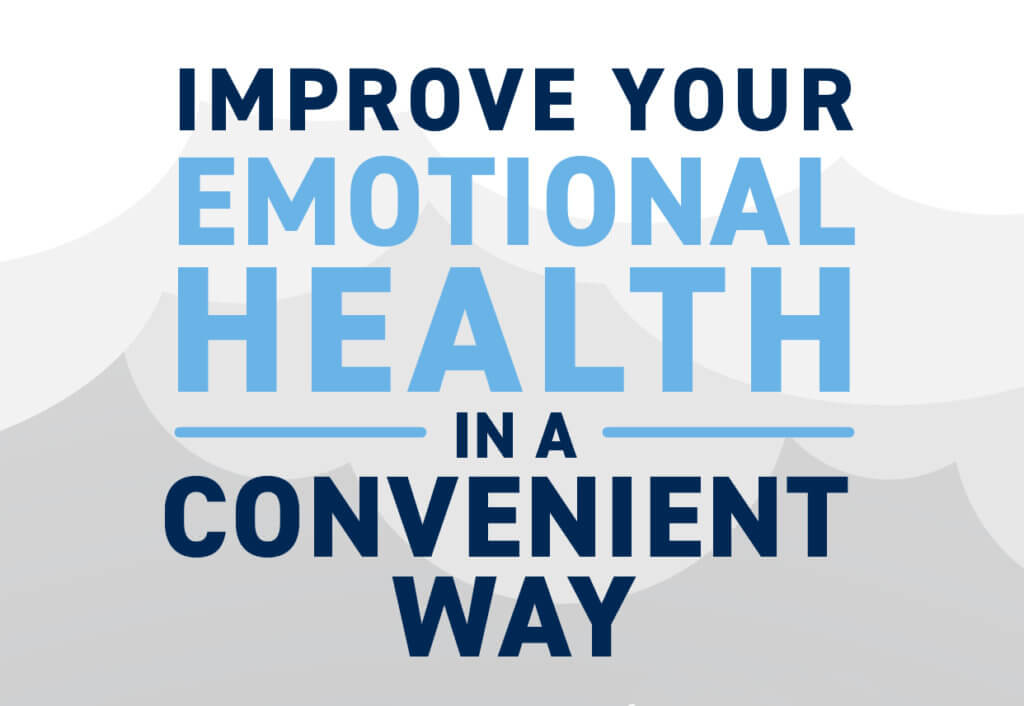 Improve Your Emotional Health in a Convenient Way