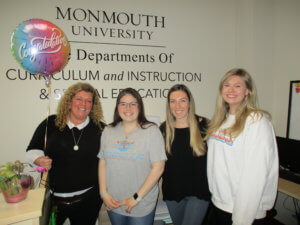 Colleen Finnigan with her Student Employees, Curriculum & Instruction