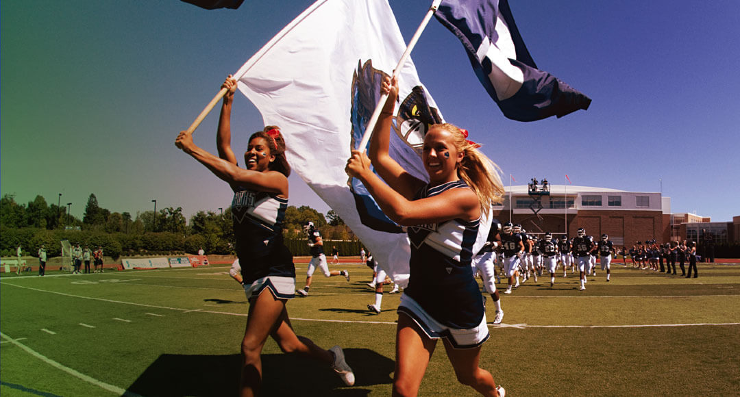 Monmouth University's Drill Team on the Field