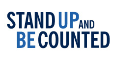 Stand Up and Be Counted Headline