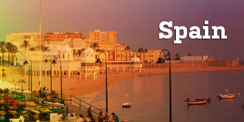 Scenic photo of coastal Spain - click to view students' photo galleries