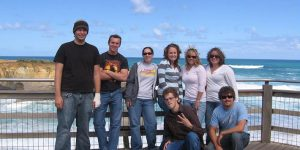 Click to View Image for Monmouth University Study Abroad Australia Fall 20006 Student Group
