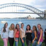 Click to View Image for Monmouth University Study Abroad Australia Spring 20006 Student Group