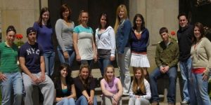 Click to View Monmouth University Study Abroad England Fall 2007 Yearbook Photo
