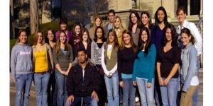 Click to View Monmouth University Study Abroad England Spring 2007 Yearbook Photo