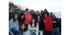 Click to View Image for Monmouth University Study Abroad Australia Fall 20008 Student Group