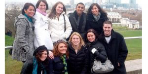 Click to View Monmouth University Study Abroad England Spring 2009 Yearbook Photo