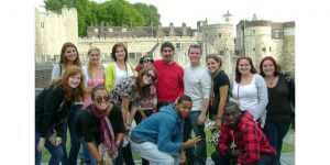 Click to View Monmouth University Study Abroad England Fall 2010 Yearbook Photo