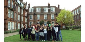 Click to View Monmouth University Study Abroad England Spring 2012 Yearbook Photo
