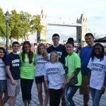 Click to View Monmouth University Study Abroad England Fall 2013 Yearbook Photo