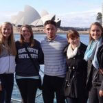 Photo of MU students in Sydney Australia Spring 2015 - Click to view larger image