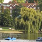 Photo of picturesque park in London England - Click to view larger image