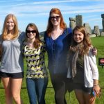 Photo of MU student group at Stonehenge in England - Click to view larger image
