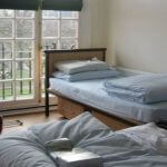 Photo of MU student dorm room at Regents College in London England - Click to view larger image
