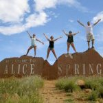 Photo of MU students in Alice Springs Australia 2004 - Click to view larger image