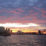 Photo of sunset in Sydney Australia 2005 - Click to view larger image