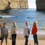 Photo of MU students on beach in Australia Spring 2006 - Click to view larger image