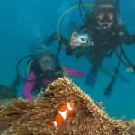 Photo of MU students scuba diving in Australia 2015 - Click to view larger image