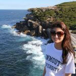 Photo of MU student in Australia 2018 - Click to view larger image