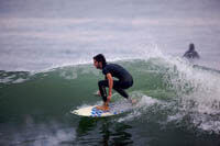 college student surfing