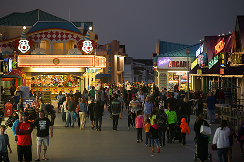 boardwalk scene