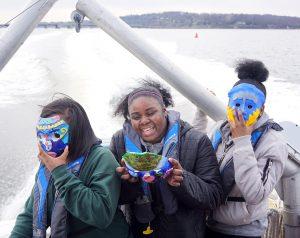 MU Students with Eco Self masks