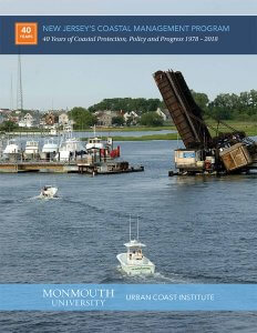 Image shows New Jersey's Coastal Management Program report cover