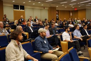 Audience members attending National Conference on Marine Environmental DNA