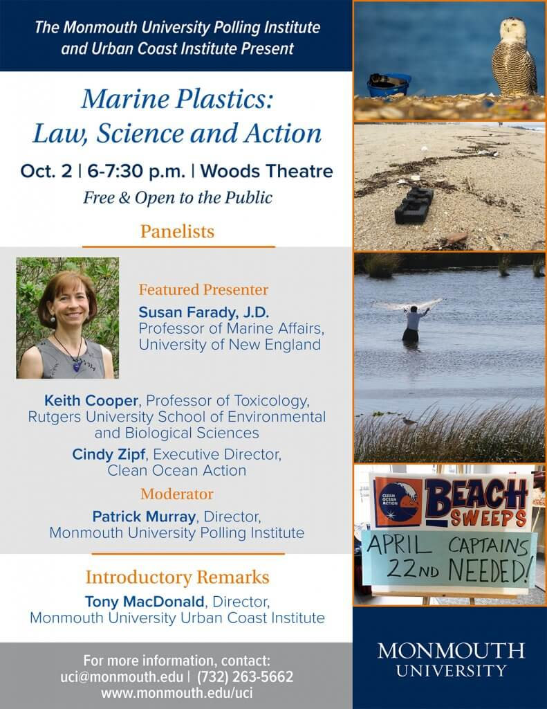 Marine Plastics panel flyer
