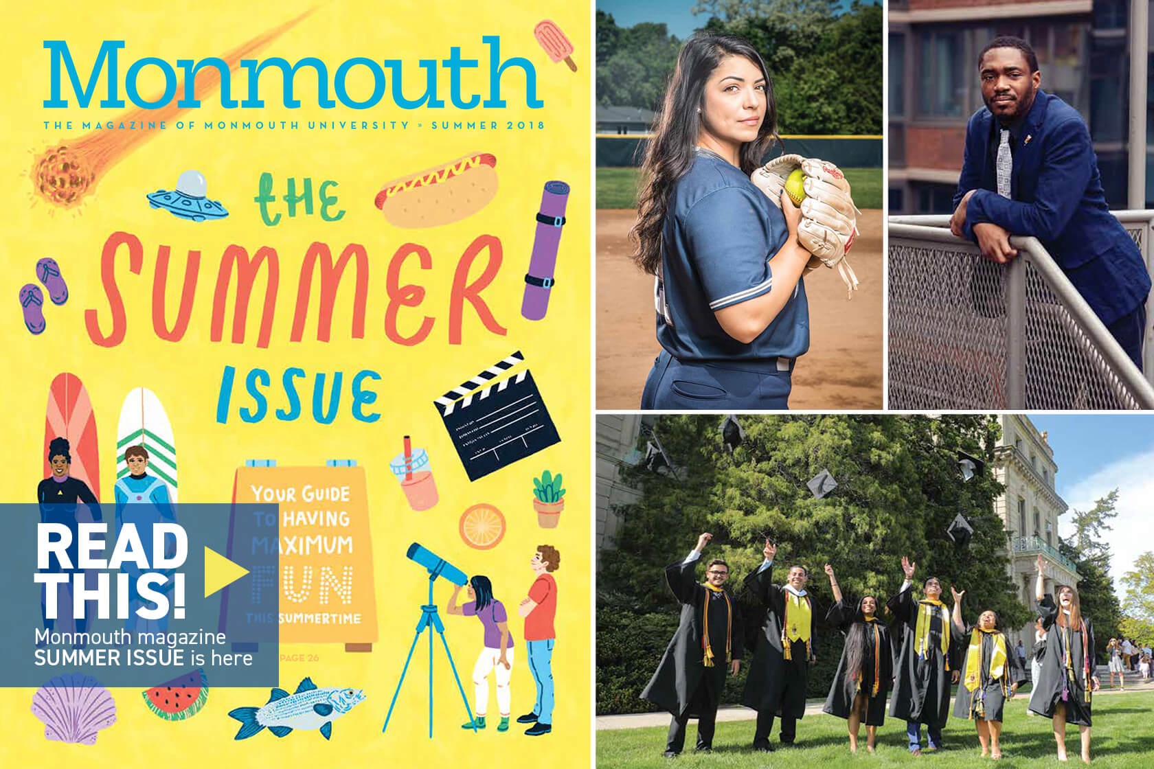 Read this, Monmouth magazine summer issue is here