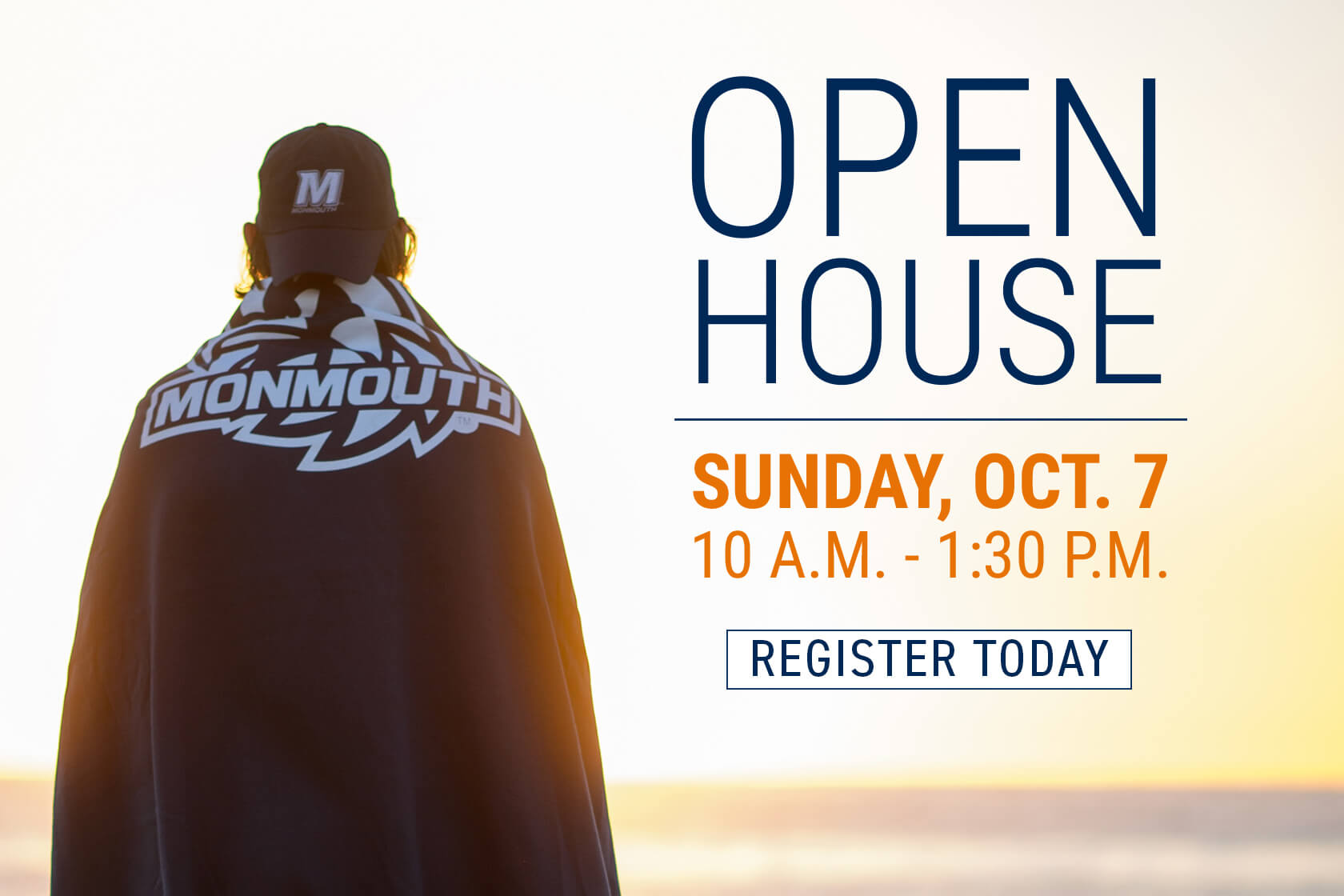 Open House, Sunday October 7 from 10 a.m. to 1:30 p.m. Register Today