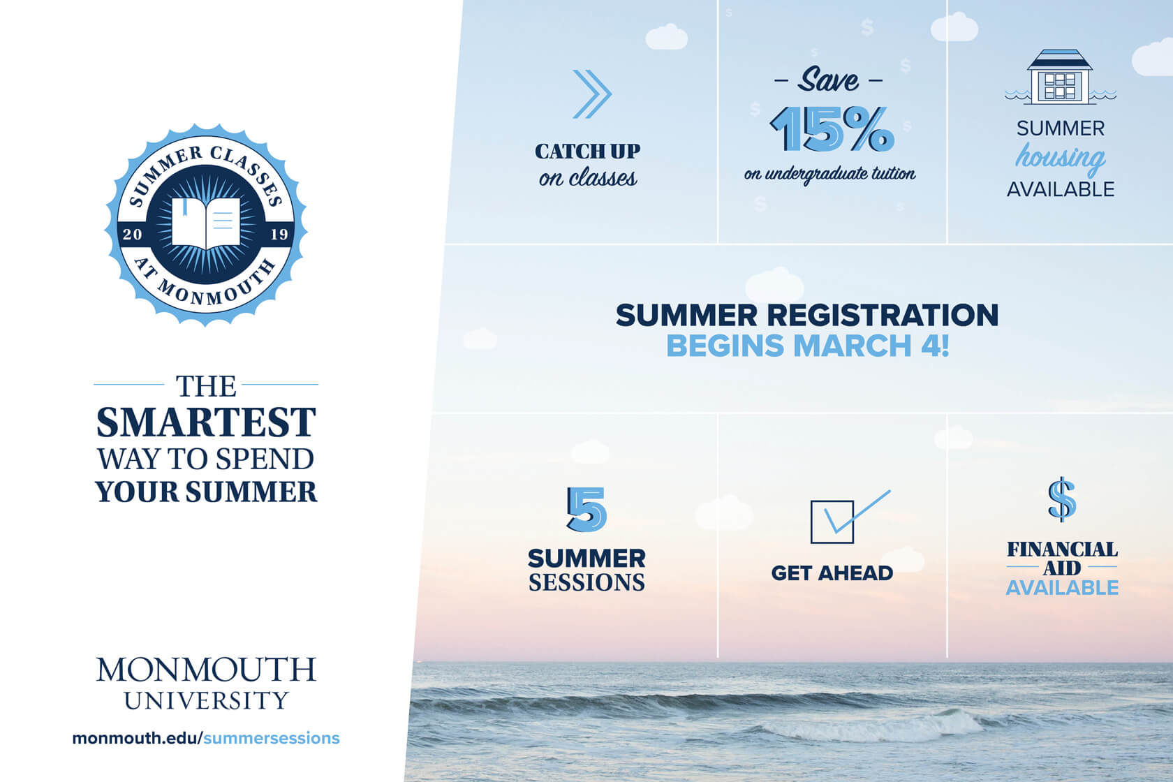 Summer Registration Begins March 4
